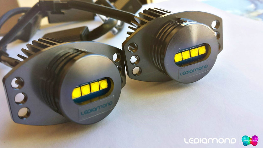LEDiamond Angel Eyes BMW. Kit LED Alta Gama Aluminio. Blanco diamante 5000K