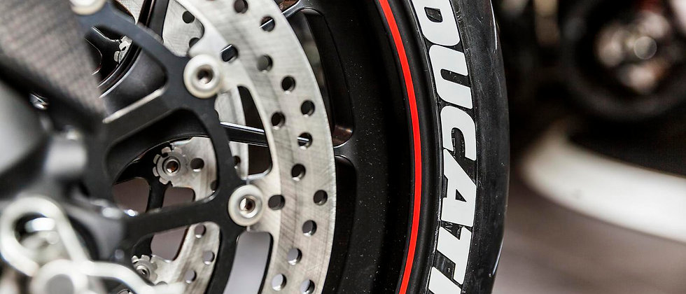 SportTyre EVO2: Pack 24 letras (6 letras x 4 neumáticos) MAXXIS, DUCATI, FALKEN