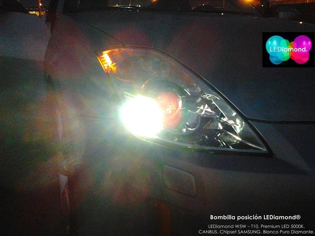 bombillas lediamond posicion delantera nissam 350Z