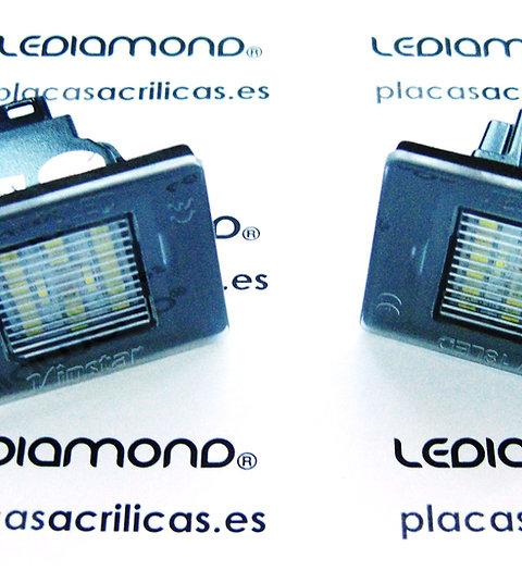 Plafones LED Matrícula MERCEDES-BENZ W176 W156 R172 X166 W166 LMD030215