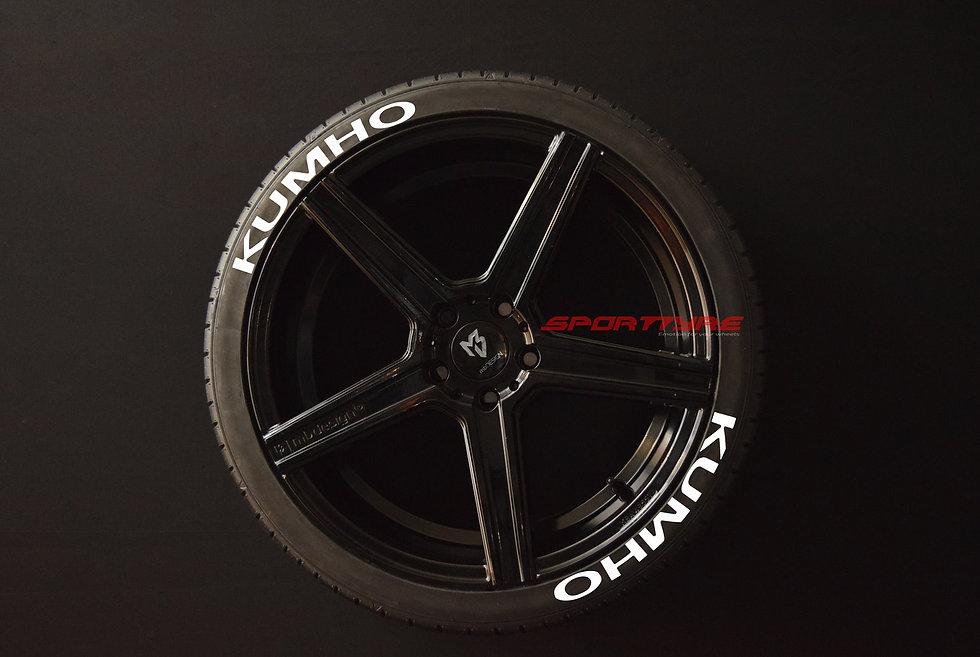 KUMHO SportTyre EVO4 High Performance. Set 8 + 1 Activador