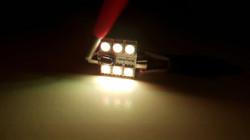LEDIAMOND RGB CONECTOR FESTOON 36mm 6 LED LUZ