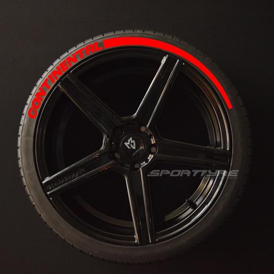 CONTINENTAL rojo 1 Flecha SportTyre EVO4