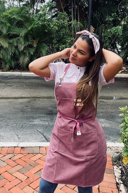 Pink Apron & Bandana