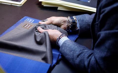 Drago ผ้า Wool ตัดสูทสัญชาติอิตาลี คุณภาพระดับโลก
