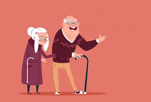 couple-senior-people-walking-with-stick-