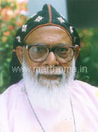 His Grace the Most Rev. Dr. Alexander Mar Thoma Valiya Metropolitan