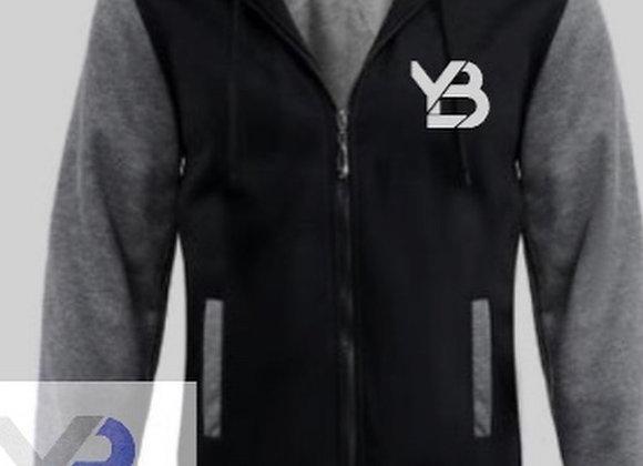 YB zip up fleece sherpa