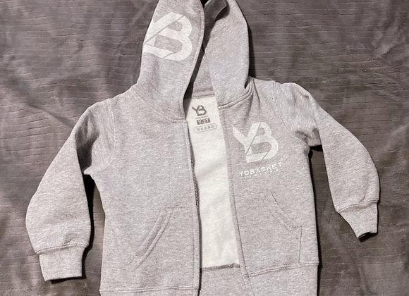 YB Baby zip-up hoody