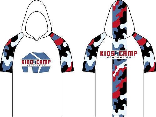 Kids4camp camouflage hoody