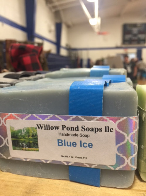 Blue Ice Soap