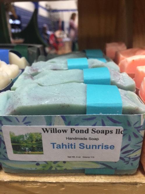 Tahiti Sunrise Soap