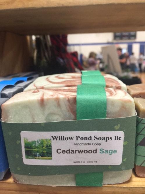 Cedarwood Sage Soap