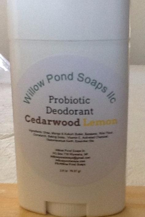 Natural Deodorant - Cedarwood Lemongrass