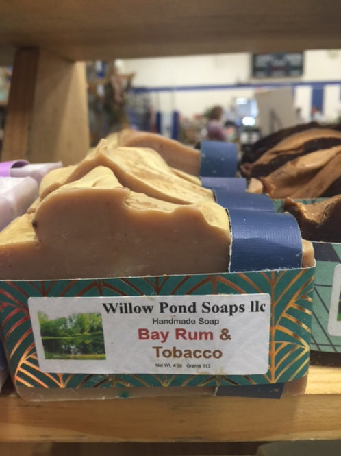 Bay Rum and Tobacco Soap