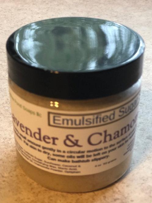 Lavender & Chamomile Facial Sugar Scrub