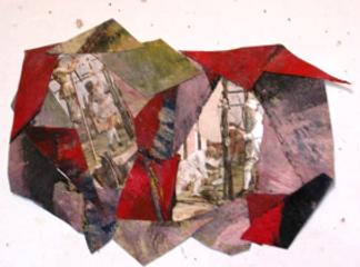 collage de différents éléments de couleurs chatoyantes