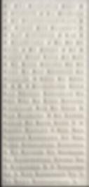 Panneau code JK Mambo Jambo 2012 127.5 x 60 x 5 cm /  plâtre, bois, acrylique