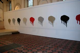 vue de l'exposition consacrée à Sophie Vinet