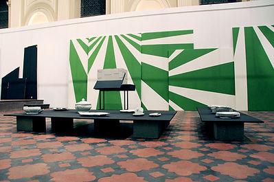 Vue de l'exposition, photo Cécile Meynier
