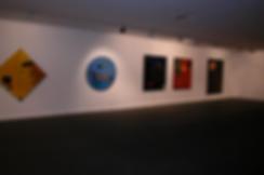 Vue de l'exposition Joël Kermarrec