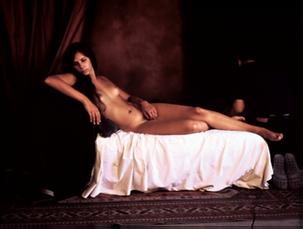Vénus d'Urbino, 2009, tirage lambda sous diasec, 120 x 175 cm  © Stéphane Lallemand