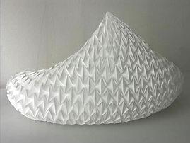 Toupie, sculpture lumineuse,  H 48 cm L 71 cm l 38 cm