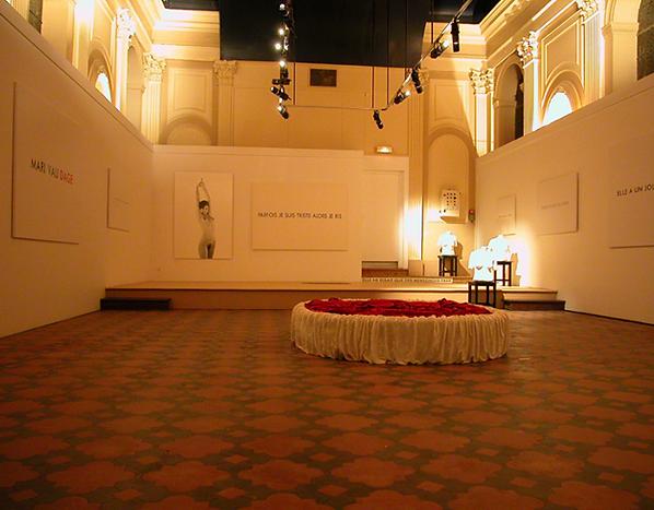 vue de l'exposition Jérôme Conscience