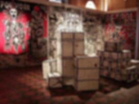 Vue de l'exposition Speedy Graphito