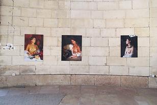 photos de Stéphane Lallemand à la Halle ronde de Givry