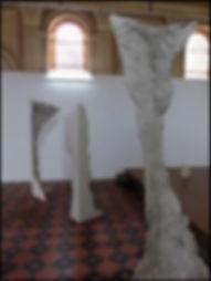 vue de l'exposition consacrée à Mathieu Girard