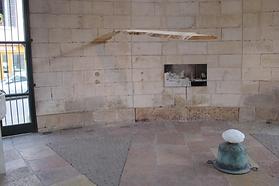 sculpture suspendue de Robin Godde et paysage de Jeanluc Hattemer