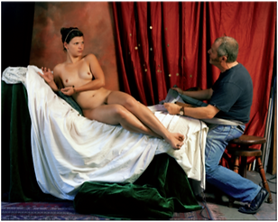 Danae, 2007, tirage lambda sous diasec, 120 x 154 cm  © Stéphane Lallemand