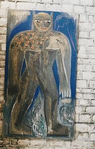 personnage peinture de Christophe Meyer