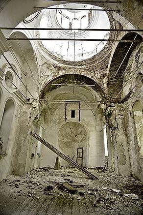 Photo ©Jean-Pierre LOUBAT,  Chapelle Karies,  Mont Athos, Grèce.