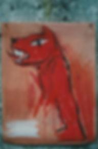 Loup rouge de Christophe Meyer