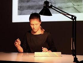 Adélaïde Feriot, L'hésitation, 2012.
