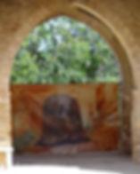 Vue de l'exposition à Cortiambles
