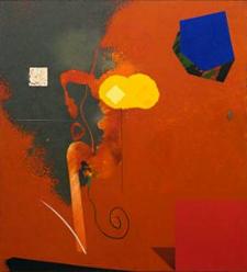 Peinture de Joël Kermarrec