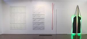 vue de l'exposition consacrée à Alain Lambilliotte