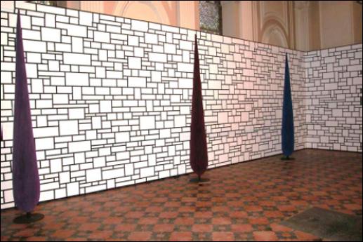 Vue de l'exposition Didier Marcel