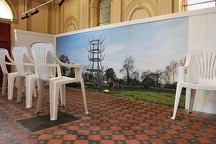 Vue de l'exposition Lilian Bourgeat