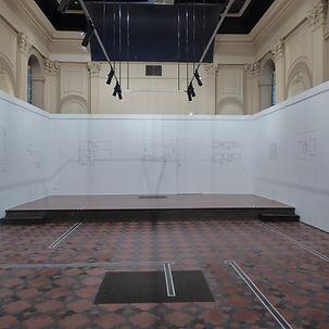 Vue de l'exposition Benjamin Testa