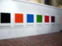Vues de l'exposition  -  Hugo Schûwer-Boss.   Photo Cécile Meynier