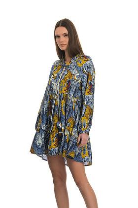 Connor & Blake jungle pattern short dress