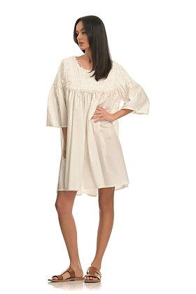 Stelios Koudounaris white short dress