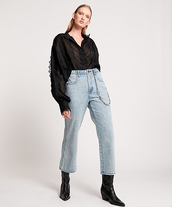 One Teaspoon jeans with chain detail