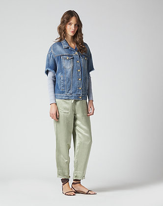 Manilla Grace mint trousers P310