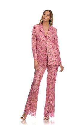 Forever Unique pink blazer