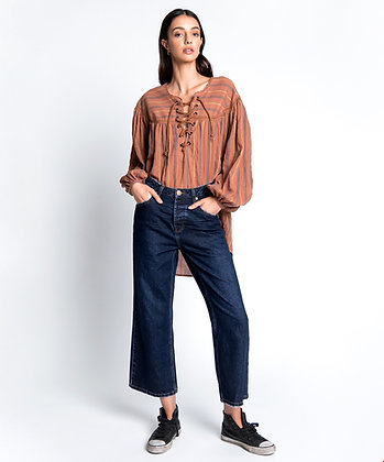 One Teaspoon cropped flair jeans